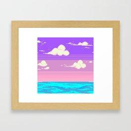 S k y Framed Art Print
