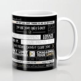 Motivation - 25 Quotes Coffee Mug