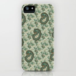 Excited Green iPhone Case
