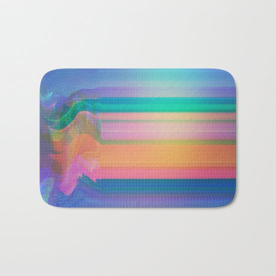Glitch 02 Bath Mat