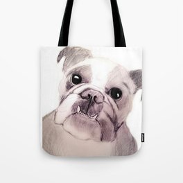 Bully Bull Dog Tote Bag