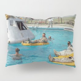 Apollo 1 - Relaxing by the Swimming Pool Pillow Sham