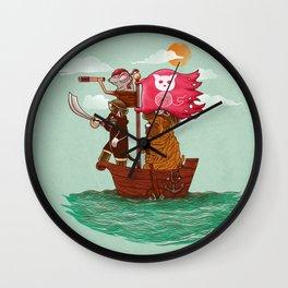 The Pirates Wall Clock