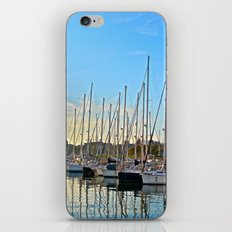 Harbor: Barcelona, Spain iPhone & iPod Skin