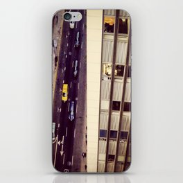 Up, Down Downtown iPhone Skin