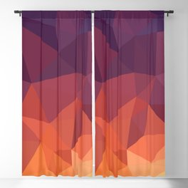 Abstract Geometric Poly #2 Blackout Curtain