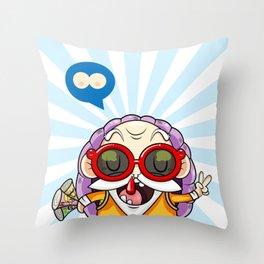 Master Roshi kawaii Throw Pillow