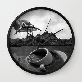 Not Enough Coffee In the World Wall Clock
