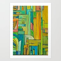 Toronto Skyline, as seen from the eyes of a Vancouverite Art Print