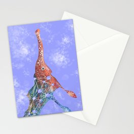 A sea horse Stationery Cards