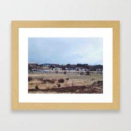 Somewhere in Iceland Framed Art Print