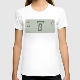 zero hours day glance T-shirt