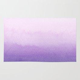 Purple Watercolor Design Rug