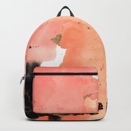 Calm Coral Daydreaming Backpack