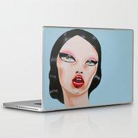 minnie Laptop & iPad Skins featuring MINNIE by Zelda Bomba