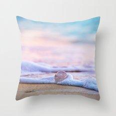 Beach Ball - Hawaiian Sunset Beach Throw Pillow