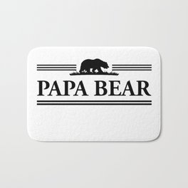 Papa bear Bath Mat