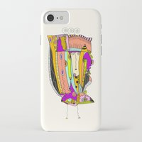 death cab for cutie iPhone & iPod Cases featuring Cutie by Ingrid Padilla
