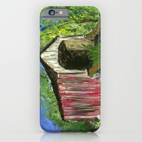 Erwinna Covered Bridge  iPhone & iPod Case