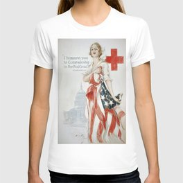 Vintage poster - American Red Cross T-shirt