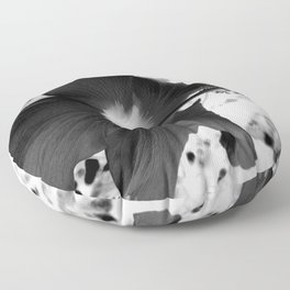 Beauty of the Negative Floor Pillow