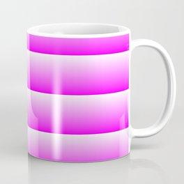 MID CENTURY MODERN BRIGHT SUMMER PINK STRIPES Coffee Mug