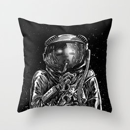 The Secrets of Space Throw Pillow