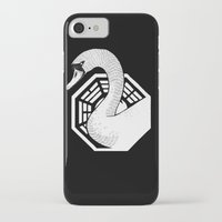 swan iPhone & iPod Cases featuring Swan by jared stumpenhorst