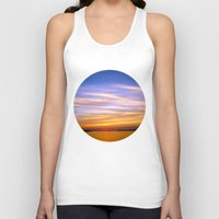 georgia Tank Tops featuring Georgia Sunset by Amy Rowland