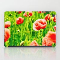 poppies iPad Cases featuring Poppies by Falko Follert Art-FF77