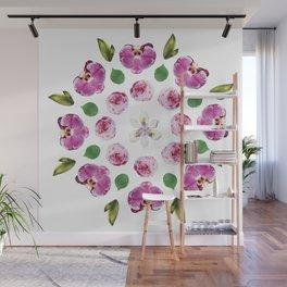 Belle Fleur: Orchids Wall Mural
