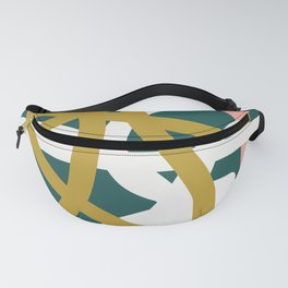Abstract Lines 02B Fanny Pack