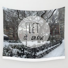 Let it snow! Wall Tapestry
