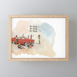I want you to move to California for yourself Framed Mini Art Print
