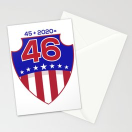 Re-Elect Trump for President. Keep America Great! Light Stationery Cards