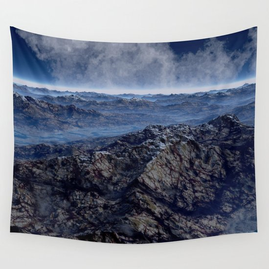 Welcome To Planet X Wall Tapestry