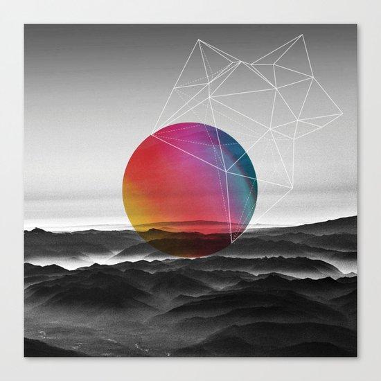 LOST PLANET Canvas Print