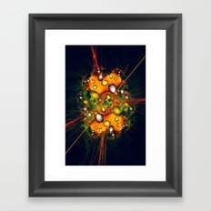 Galaxy Explosion Framed Art Print