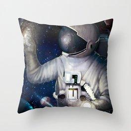 Astronaut 2 Throw Pillow
