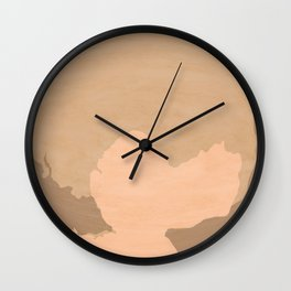 PLUTO (illustrated as seen) Wall Clock