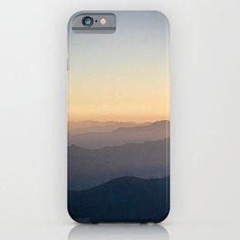 Mountain Mist iPhone Case