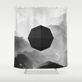 Octagon Shower Curtain