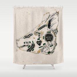 Poor Peppa Shower Curtain