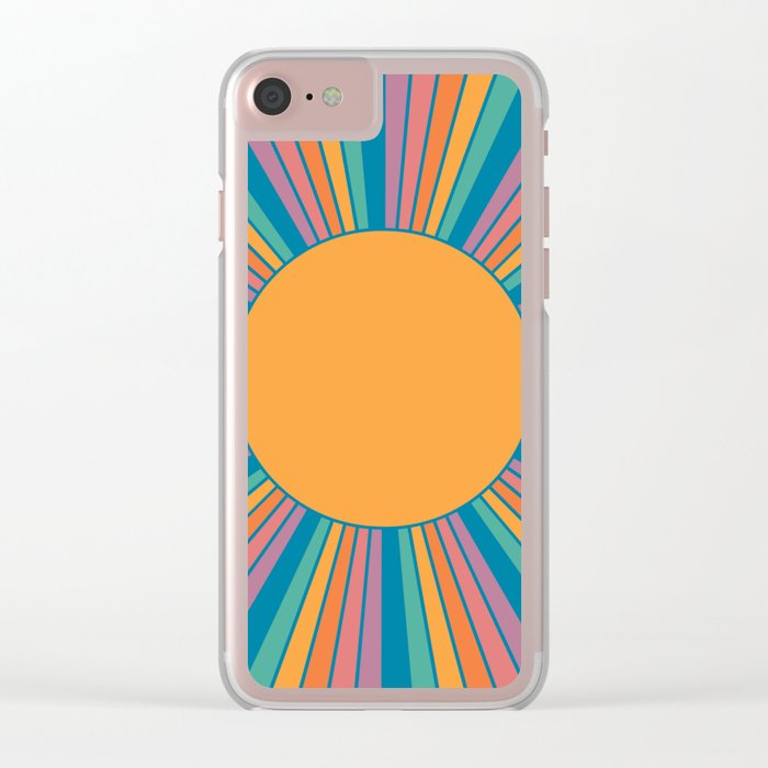 Sunshine State Clear iPhone Case