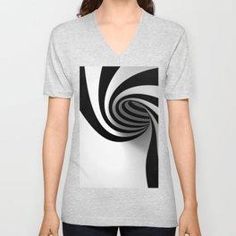 Spiral Unisex V-Neck