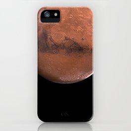 Schiaparelli Hemisphere, Mars iPhone Case