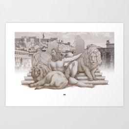 Hercvles Art Print