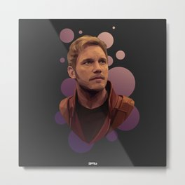 My Sweet (Star)Lord Metal Print