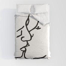Frida's kiss Comforters