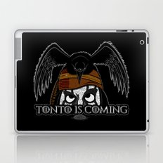 Tonto Is Coming Laptop & iPad Skin